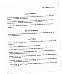 Work Statement Examples 7 8 Personal Values Statement Example Fieldofdreamsdvd Com