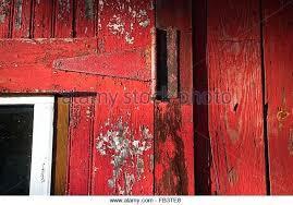 red barn doors. Distressed Barn Door Red Stock Image Diy . Doors