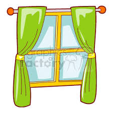 window clipart. Brilliant Clipart Window Windows Curtain Curtains Clip Art Household Intended Window Clipart T