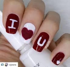 14 Flirty and Romantic Valentine's Day Nail Art Designs