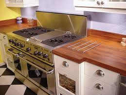natural wooden kitchen countertops for a trendy look