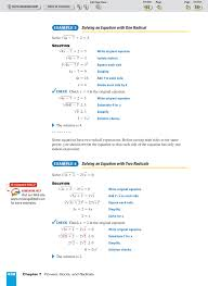 solving radical and rational exponent equations practice pages 1 8 text version anyflip
