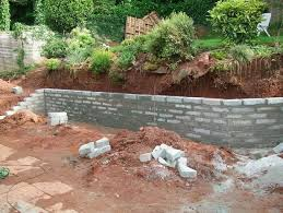 Small Picture Ideas for a retaining wall