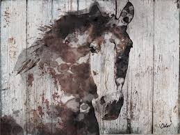 zoom on wild horses wall art with samantha b wild horse extra large horse brown rustic horse