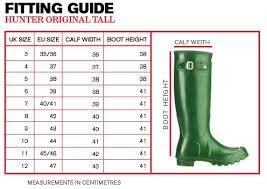 Hunter Welly Socks Size Chart Hunter Original Back Adjustable Rain Boots Black