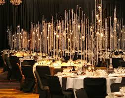 hanging crystals for wedding centerpieces. thousands of hanging crystals and hundreds candles created this lovely gala event @ the. diy wedding centerpieceswedding for centerpieces i