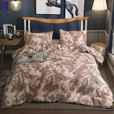 sunnyrain paisley printed bedding set duvet cover set king size bedding uk us twin queen bed gray comforter sets cabin bedding from hibooth 42 04 dhgate