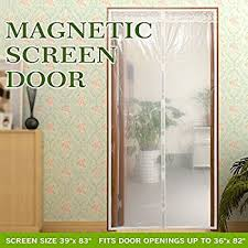Transparent Magnetic Screen Door Curtain Prevent Air Conditioning Loss Help  Saving Electricity & Money,Enjoy