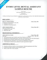 Dental Lab Technician Resumes Resume For Dental Technician Resume Sample Sample Dental Resume
