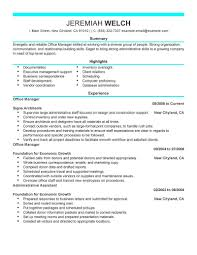 Manufacturing And Production Administrative Support Resume