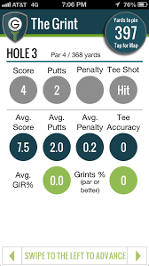 golf club distance cheat sheet thegrint new golf gps feature coming really soon the range