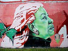 toni morrison street art depicting toni morrison in vitoria spain
