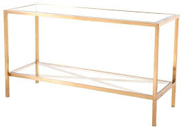 gold glass console table nightingale black metal rose rtw also gold and glass console table