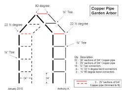 Small Picture DIY Metal Trellis Plans How To Make A Garden from Copper Pipe l