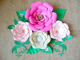 How To Make Paper Flower Backdrop Large Backdrop Paper Flower Tutorial Youtube