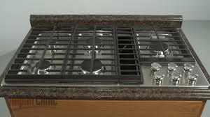 kitchenaid gas downdraft cooktop