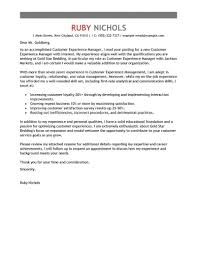 customer experience manager best customer experience manager cover letter examples livecareer