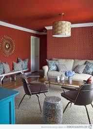 mesmerizing modern retro living room. 15 Mesmerizing Maroon Living Room Walls | Home Design Lover Modern Retro