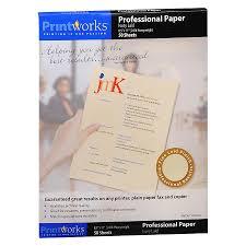 Printworks Professional Paper Ivory Laid Walgreens