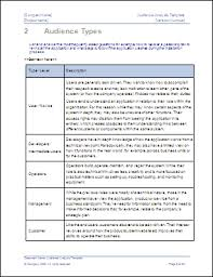 audience analysis example audience analysis template change management pinterest
