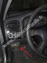 obd2 connector location in toyota avensis (1997 2003) outils obd toyota wish 2005 fuse box location toyota avensis dashboard
