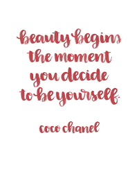 Coco Chanel Beauty Quotes Best Of Printable Brush Lettered Inspiration Beauty Quote By Coco Chanel