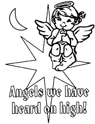 christmas angel coloring pages kids   coloring kids   clip art librarychristmas angel coloring pages   coloring