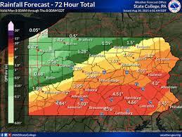 Hurricane Ida brings flash flood watch ...