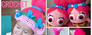 Trolls Crochet Hat Pattern Classy Crochet Poppy Troll Hat Free Pattern BeesDIY