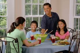 Eating Table Filefamily Eating At A Table 2jpg Wikimedia Commons