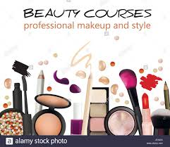 Design Makeup Products Beauty Courses Poster Design Cosmetic Products