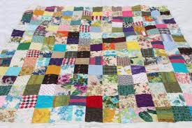 vintage bohemian patchwork quilt, hippie boho retro colorful print ... & vintage bohemian patchwork quilt, hippie boho retro colorful print fabric  bedding Adamdwight.com
