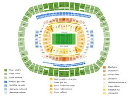 Metlife Stadium Football Seating Chart Metlife Stadium Seating Chart Cheap Tickets Asap