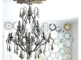 chandelier wall art chalkboard