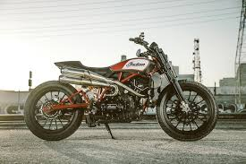 dirt flirt indian motorcycle teases with a scout street tracker