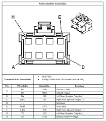 wiring schematic for bose amp speakers chevy trailblazer click image for larger version bose2 jpg views 5901 size
