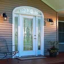 pretty white front door. Door Glass Pretty White Front Door