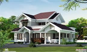 beautiful villa elevation in 2000 sq feet house design plans
