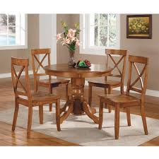 Home Styles Pedestal Dining Table Cottage Oak Walmartcom