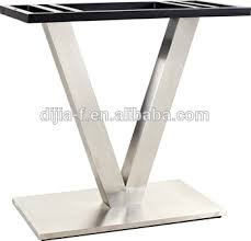 metal pedestal table base. Modern Stainless Steel Pedestal Table Base DJ-LS020 Metal Alibaba