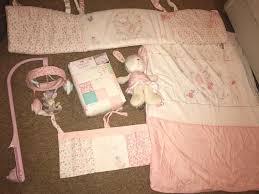 mothercare my little garden bunny baby girl bedding set mobile etc