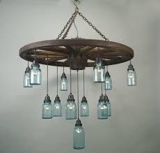 wagon wheel chandelier images