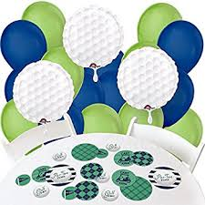 Golf Ball Decorations Amazon Golf Foil Balloon Party Accessory Toys Games 86