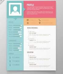Creative Resume Template Word Menu And Resume