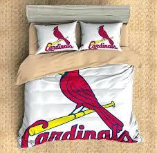 cardinals bedding customize st cardinals bedding set duvet cover set bedroom set arizona cardinals bedding