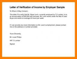8 Salary Verification Letter Examples Pdf