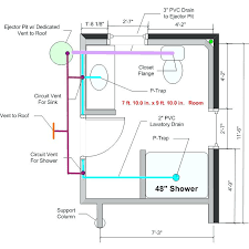 fancy basement bathroom plumbing basement bathroom rough in any feedback on the drain basement bathroom drain