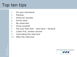 Tips For Job Seekers Winter Wyman Interview Tips For First Time Job Seekers