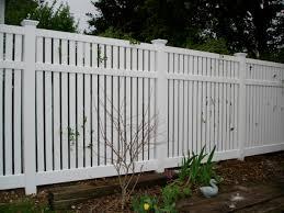 vinyl fencing. Vinyl Fence Picture Fencing
