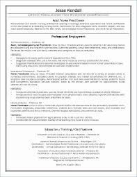 Nursing Resume Example 2 Beautiful New Grad Nurse Resume From Skills ...